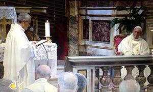 Generale saluta Papa