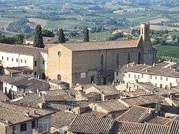 San Gimignano - Chiesa di Sant'Agostino