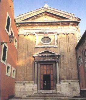Roma - Parrocchia di Santa Prisca