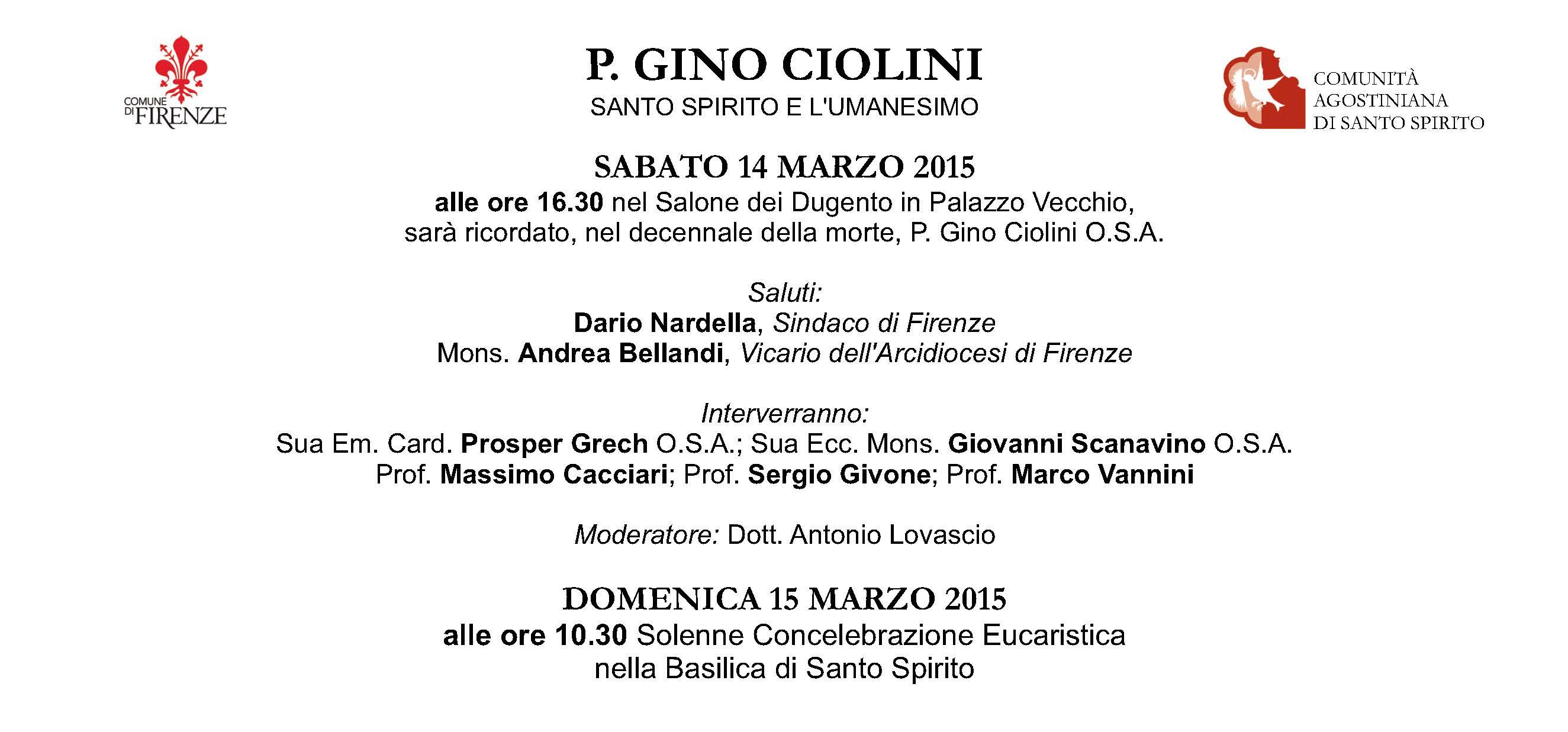 INVITO Ciolini