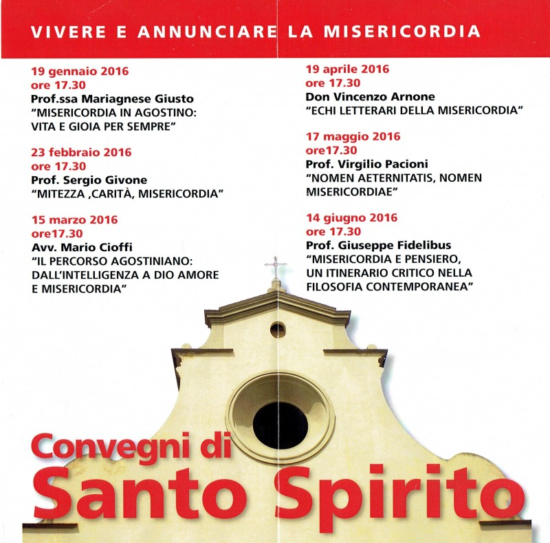 Convegni di Santo SPirito 2016